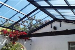 gable roof awning