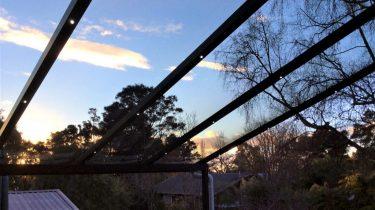 Evening awning